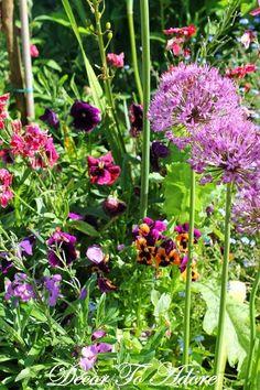 Monet's Closed Normandy Garden (Jardin Clos Normand) ~ Decor To Adore Summer Travel Series 2014