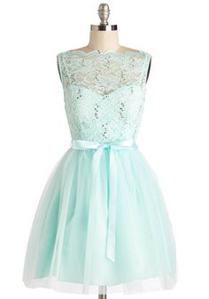 Sleeveless Ballerina Party Frock Anthem Dress from ModCloth. Shop more products from ModCloth on Wanelo. Green Sequin Dress, Green Lace Dresses, Blue Party Dress, Short Lace Dress, Sequin Party Dress, Cute Dresses, Prom Dresses, Short Dresses, Dance Dresses