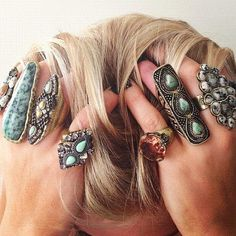 Samantha Wills rings