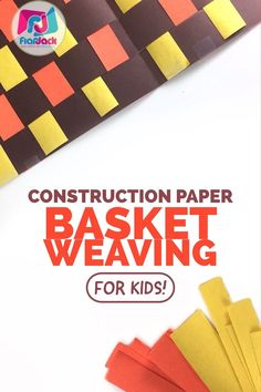 Need a calming Thanksgiving activity? Use this video for an easy-to-prep craft on basket weaving. Great for celebrating Thanksgiving Day, Native American history, or patterns. Teaching American History, American History Lessons, Teaching History, Native American History, Teaching Resources, Teaching Ideas, Native American Heritage Month, Native American Crafts, Paper Basket Weaving