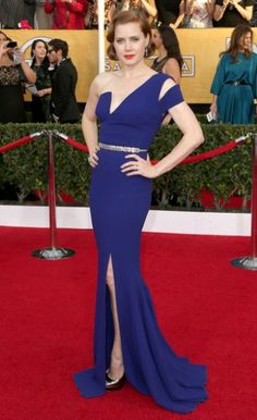 Amy Adams in Antonio Berardi at the 2014 SAG Awards