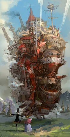 """Howl's Moving Castle"" by Hayao MIYAZAKI, Japan"