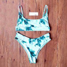 tie dye crop top swimsuit bikini cami crop tops dye tie swim crop top Crop Top Bikini, Crop Swim Top, Tie Dye Crop Top, Tie Dye Bikini, Swimsuit Tops, Crop Tops, Bikini Swimsuit, Cute Bikinis, Cute Swimsuits