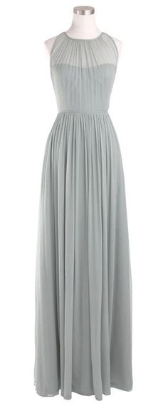 Sheer chiffon dress