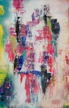 """#art - #abstraction acrylic hand #painting """"Happy Mood"""""""