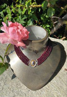 Bad, Jewelry, Fashion, Dirndl, Rhinestones, Neck Chain, Handmade, Handarbeit, Love