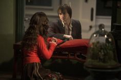 Still of Christina Ricci and James McAvoy as Max Campion/Johnny Martin in Penelope (2008)
