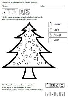 fiche maths GS formes et nombres Fiches Vers les maths GS OK titline OK