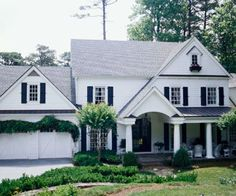This is a great example of a front porch addition to the front of a traditional colonial.