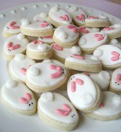 Teeny tiny BUNNIES sugar cookies