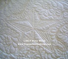 Star Machine Quilting Template – TopAnchor Quilting