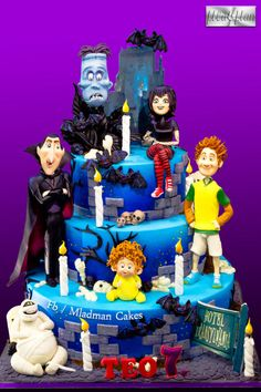 Hotel Transilvania Halloween Cake by MLADMAN