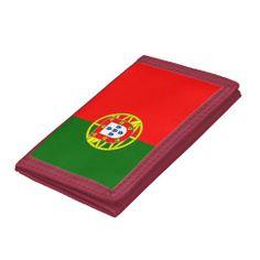 Portugal flag wallet