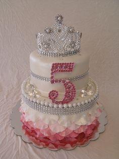 Gâteau princesse strass