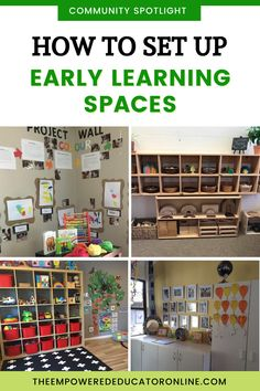 Early learning environments and spaces for home and centre based child care - Find new ideas and be inspired with this behind the scenes look into early learning spaces from our Empowered Educator community. You'll find lots of inspiration for early years wall displays, storage ideas, and welcome areas. | The Empowered Educator Eylf Learning Outcomes, Learning Spaces, Learning Environments, Teacher Storage, Classroom Organization, Classroom Management, Classroom Ideas, Early Years Teacher, Early Years Classroom