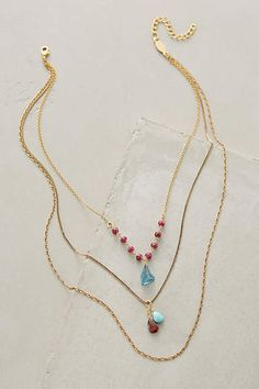 Petronille Layered Necklace - anthropologie.com #anthrofave