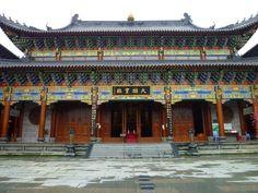 Dongshan Monastery, Dapeng, Shenzhen. 深圳大鹏 东山寺  First Built: 1394 (Ming Dynasty) 始建于明朝洪武二七年.  1st Rebuilt: 1854 (Qing Dynasty) 清代咸丰四年.  2nd Rebuilt: 1992  Location: Dapeng Sub-district, Longgang District, Shenzhen, China