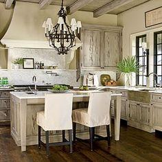 jenifer bearden pinterest | rustic white dream kitchen | For the Home