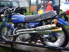 another vintage Honda Scrambler