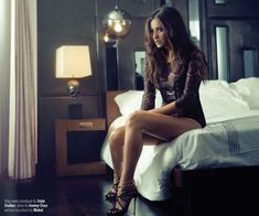 Shay Mitchell inside FAULT Issue 12
