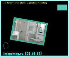 Tiled Corner Shower Stalls Inspiration Decorating 183938 - The Best Image Search