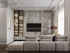 Inspirational best living room tv wall designs and ideas 18 - Modern Living Room Tv Wall, Living Room Tv, Bedroom Design, Living Room Design Modern, Living Room Tv Unit, Luxury Living Room, Living Room Designs, Luxury Living, Wall Design