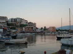 Perfect sunset at dinner time -Athens-
