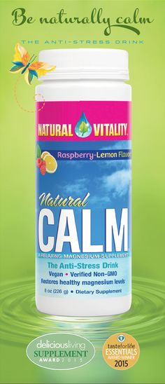 Natural Calm is the solution to both restoring a healthy magnesium level and balancing your calcium intake—the result of which is natural stress relief.