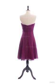 bridesmaid dresses Charming sleeveless A-line bridesmaid dress $99.8