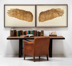 Wings of Love, Goldleaf right | Natural Curiosities