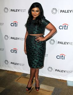 Mindy Kaling at Paleyfest 2014 for The Mindy Project Curvy Celebrities, Celebs, The Mindy Project, All Things Fabulous, Mindy Kaling, Fashion Essentials, Must Haves, Peplum Dress, Beautiful People
