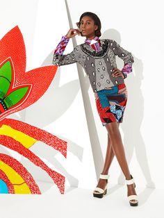 Love to layer ~African fashion, Ankara, kitenge, African women dresses, African prints, African men's fashion, Nigerian style, Ghanaian fashion ~DKK