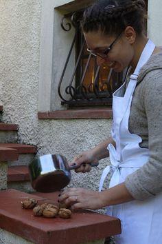 Atelier culinaire - Voyage blogueurs Roquefort Papillon 2013