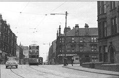 Tollcross Road at Wellshot Road Circa 1961