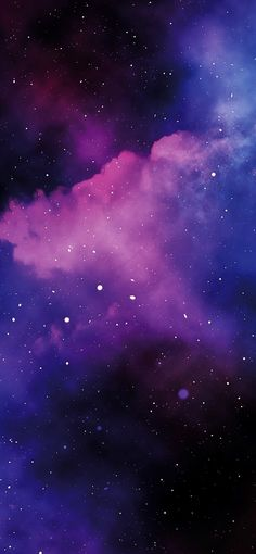 Night in space by EvgeniyZemelko (iPhone/Android) - Beautiful Wallpaper - Purple Galaxy Wallpaper, Night Sky Wallpaper, Wallpaper Space, Tumblr Wallpaper, Nature Wallpaper, Wallpaper Backgrounds, Cool Backgrounds For Iphone, Wallpapers Android, Best Iphone Wallpapers