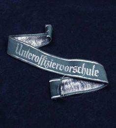 Heer Unteroffiziervorschule Cuff Title. Woven.
