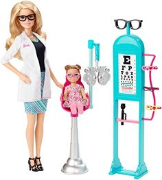 Barbie Careers Eye Doctor Doll and Playset Barbie http://www.amazon.com/dp/B00R8ZUXTI/ref=cm_sw_r_pi_dp_qGeRvb0PB1CNS