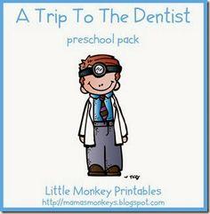 Trip To The Dentist Preschool Pack