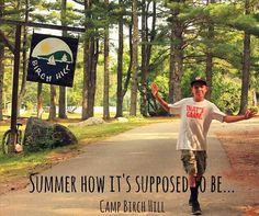 Summer Camp! The way summer should be! #campbirchhill