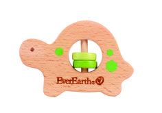 The new wooden EverEarth Turtle Grasping Toy is a wonderful gift for babies! FSC certified natural wood. Grasper, teether, sound maker. Also available in 3 other  adorable designs, the beads with star or square, elephant and turtle are sure to be much loved wooden toys by your children! Available now on http://www.alltotstreasures.com.au/EverEarth/everearth-grasping-toy