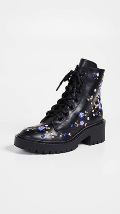 8cbc779711e KENZO Pike Embroidered Boots Cool Shoes For Women