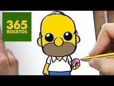 COMO DIBUJAR PITUFO KAWAII PASO A PASO - Dibujos kawaii faciles - How to draw a Schtroumpfs - YouTube