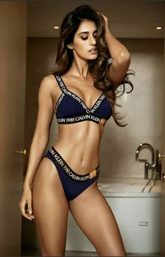 Here are all the photos of Disha Patani wearing Calvin Klein bikini and undergarments - see this Bollywood actress raising heat with these bold photos. Indian Actress Hot Pics, Bollywood Actress Hot Photos, Bollywood Girls, Beautiful Bollywood Actress, Most Beautiful Indian Actress, Indian Actresses, Bollywood Bikini, Hindi Actress, Hot Actresses