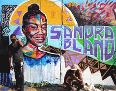 drippin soul creations: Reflections on the Ottawa TechWall, Sandra Bland, and Black Lives Matter