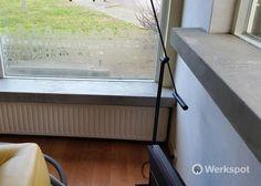 Project - Vensterbanken beton cire en behangen - Werkspot.nl
