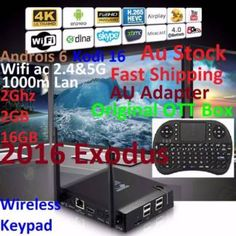 KIII K3 2016 Exodus 4K Android 6 Box 2G 2G 16 acWIF+W'less Keypey   Other Computers & Software   Gumtree Australia Manningham Area - Doncaster   1118103527