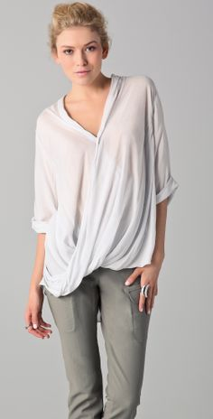 Helmut Lang Overlap Shirt