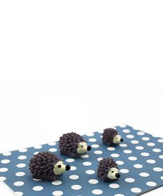 25beb77bc5e4 Take a look at this Hedgehog Magnet - Set of Six today! Hedgehog