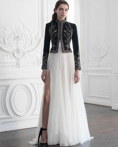 Designer Wear, Designer Dresses, Paolo Sebastian, Haute Couture Fashion, Fashion Show, Fashion Design, High Fashion, Mode Inspiration, Mode Style