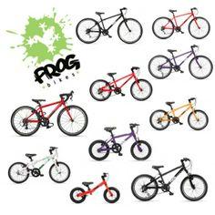 Frog Bikes - Lightweight bikes for kids
